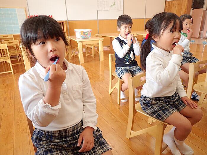 歯磨き指導1