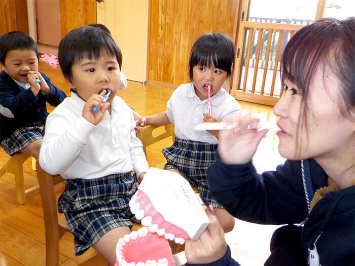 歯磨き指導2