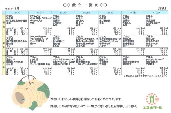 8月11日~誠光園